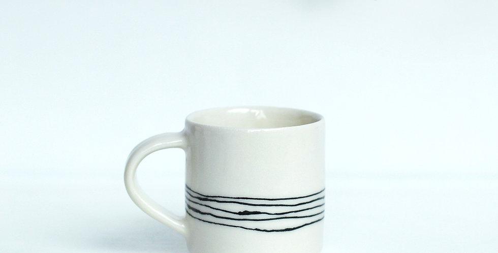 Stripy Espresso Cup
