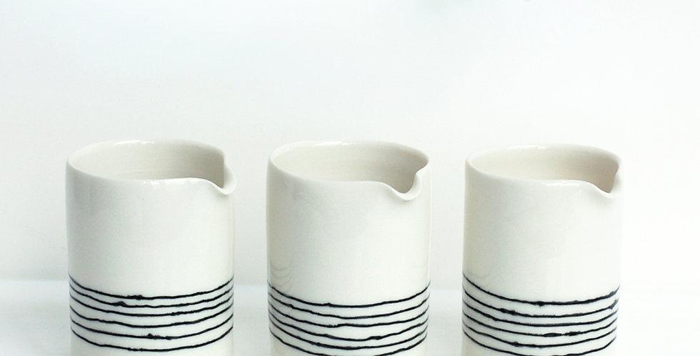 Stripy Milk Jug