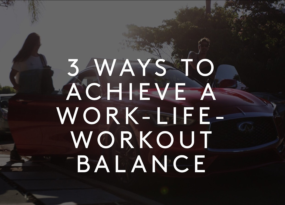 Work Life Workout Balance - Efren Rodriguez Personal Trainer