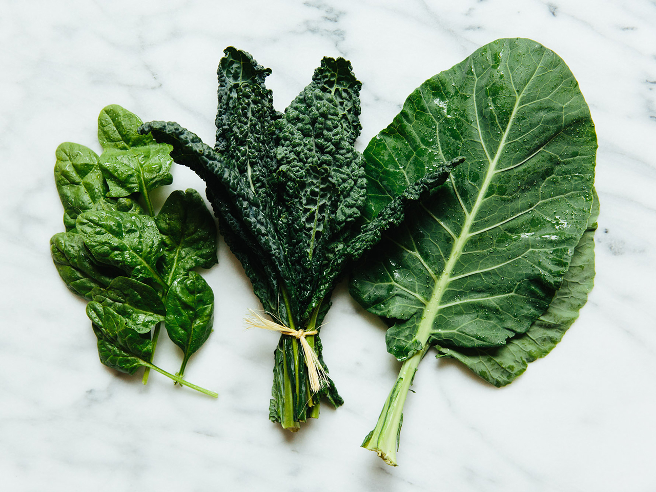 Vitamin K is known for its role in blood coagulation and clotting and is linked to a decreased risk of heart disease, but recent research has also revealed it plays an important role in helping our bodies absorb calcium. Find it in vegetables like kale, collards, and spinach.Those leafy greens also contain magnesium, a mineral also involved in calcium absorption as well as nerve and brain function.