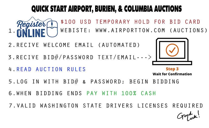 Online Quick Start Auctions