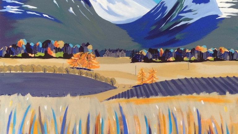 Autumn Lairig Ghru