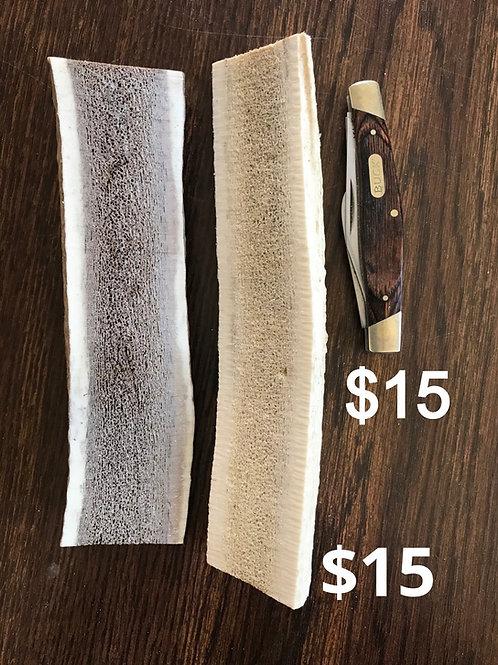 Medium Split Antler  $15  (one piece)