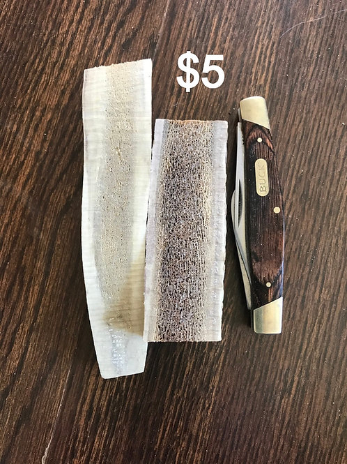 Small Split Antler  $5  (one piece)