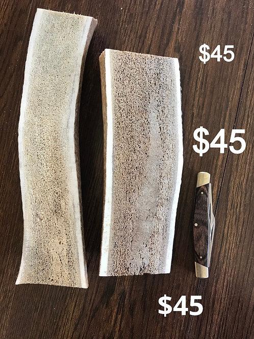 Xlg split antler  $45  (one piece)