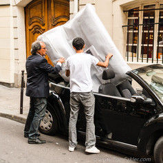 Moving day in Paris
