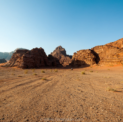 Wadi Rum desolation