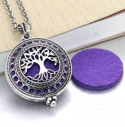 Aromatherapy vintage necklace locket