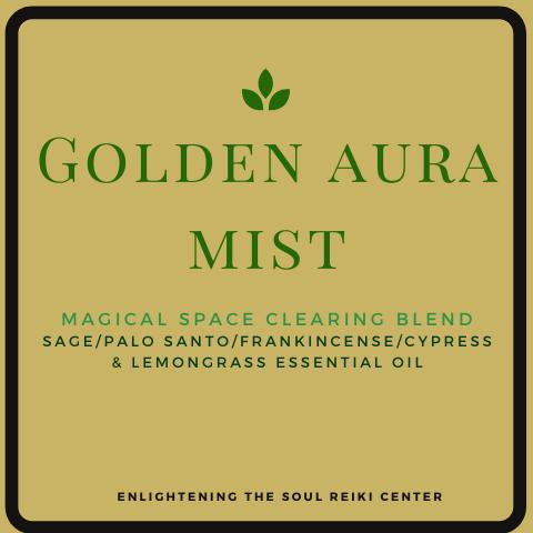Golden Aura Mist Spray