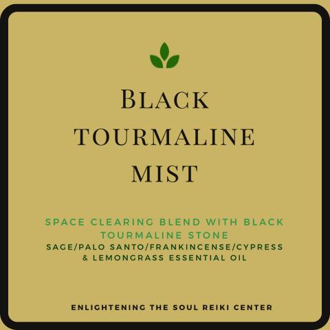 Black Tourmaline Mist