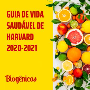 Guia de vida saudável da Harvard 2020/2021