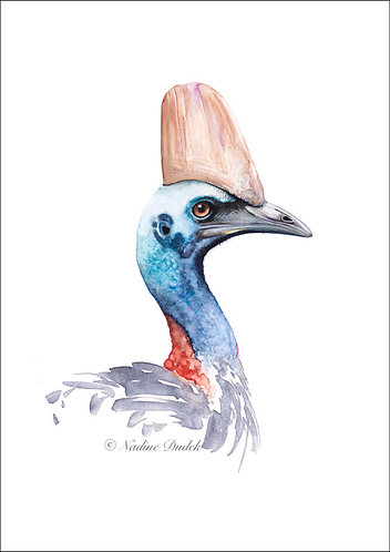 'The Queenslander' Ltd Ed Giclee Print 1/40, unframed A3 (29.5 cm x 42 cm)