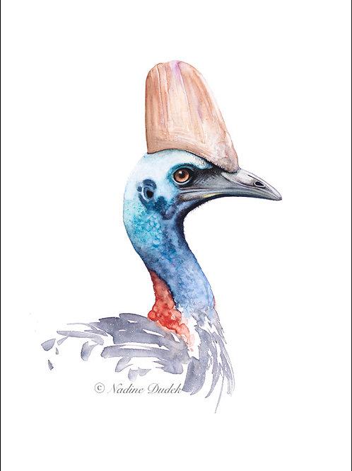 'The Queenslander' Ltd Ed Giclee Print 1/40, unframed A3 (29.5 cm x 42 cm)