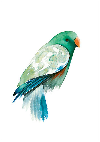 'Emerald' Ltd Ed Giclee Print 2/60, unframed A3 (29.5cm x 42cm)