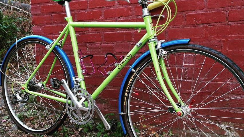 Bilenky Green Roadster/Light Touring Bike