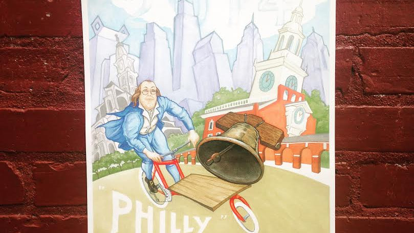 2014 Philly Bike Expo Poster
