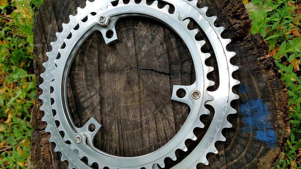 Vintage Campagnolo 3pin Chainring Set