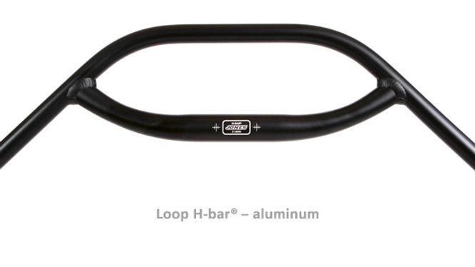 Jeff Jones Loop H Bar - Aluminum