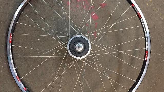 Di2 Alfine Complete Wheel