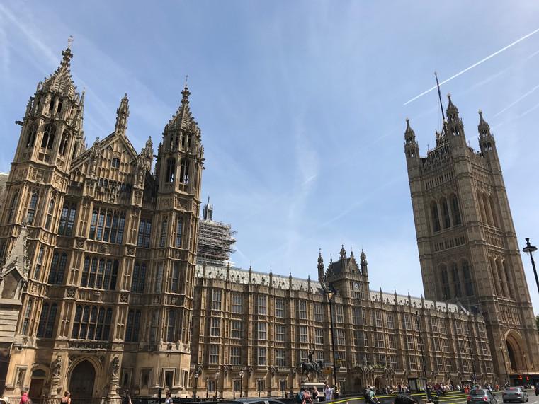 The British Parliament Building
