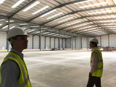 Observing the Construction of a Warehouse