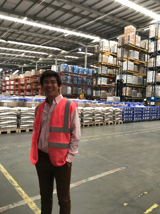 Nick in another one of Cabot's Warehouses