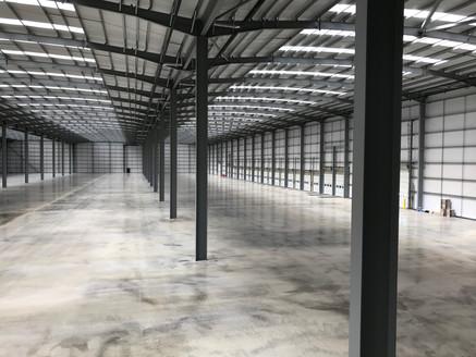 Inside an Brand New Warehouse