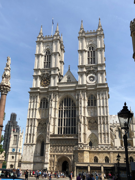 Westminster Abbey in England