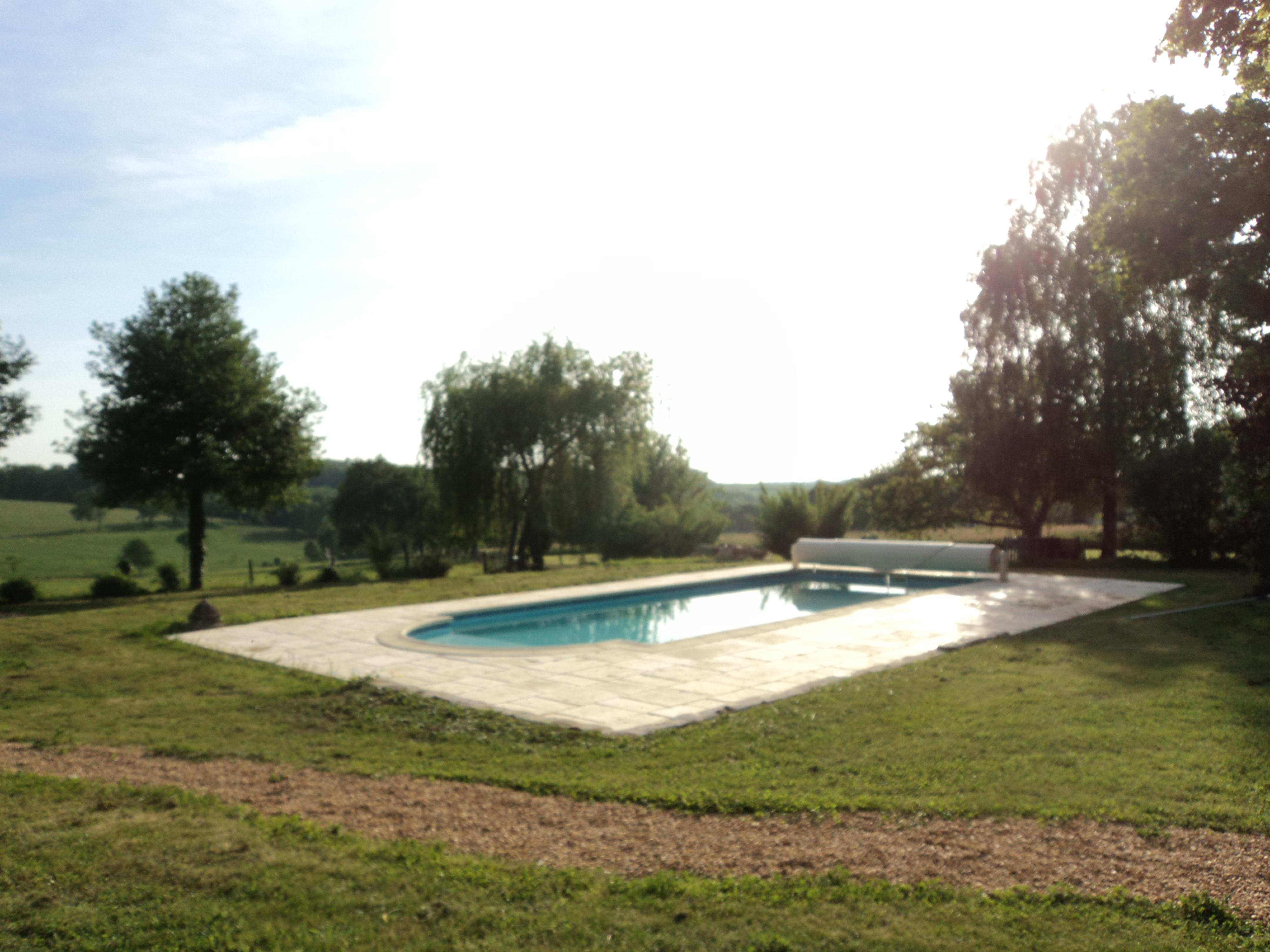 piscine sécurisée/securised pool