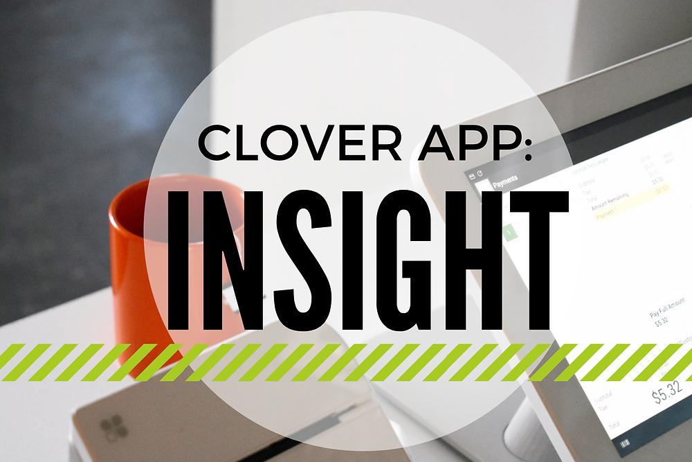 clover insight app
