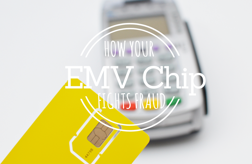 EMV chip cards fight fraud scamming