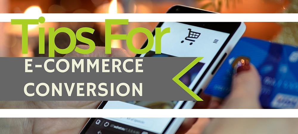e-commerce increase conversion tips