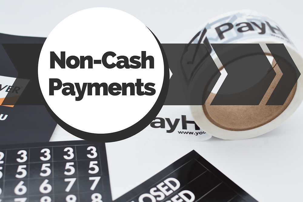 non-cash payments