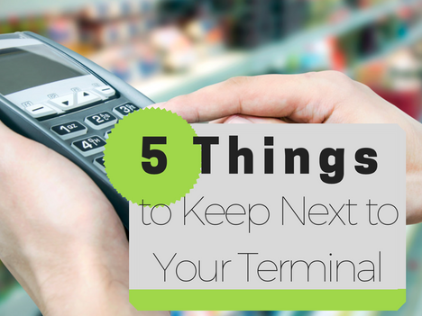 5 Things to Keep Next to Your Terminal