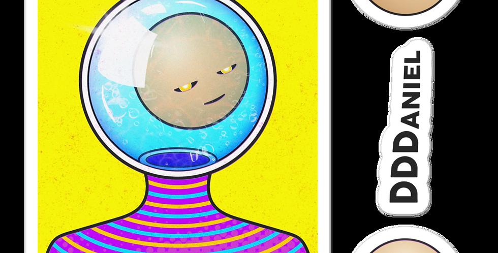 'In My Bubble' Sticker Set