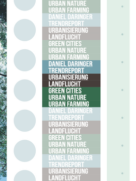 """booklet cover """"green cities"""""""