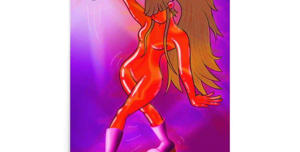 'Lava Dance' Poster