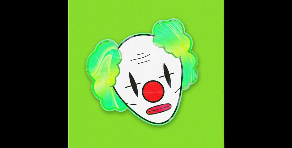'Green Clown' Poster