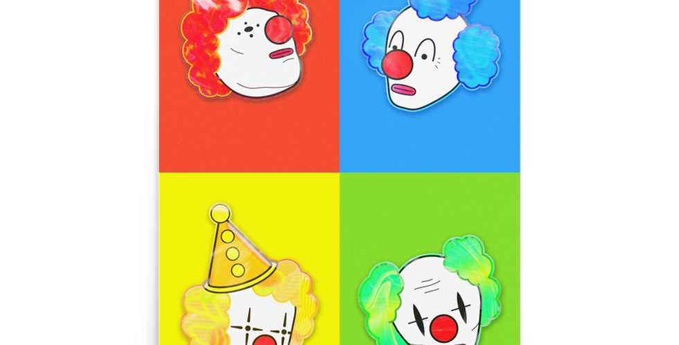 'Clown Party' Poster