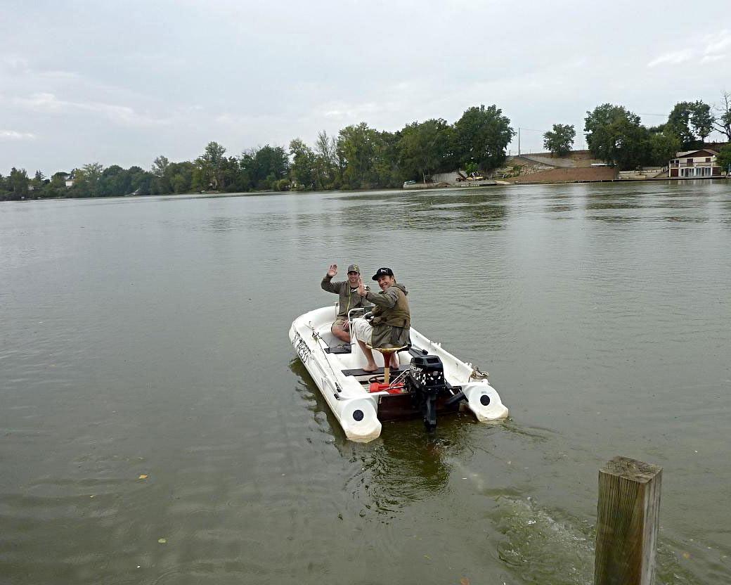 Photo bateau du gîte