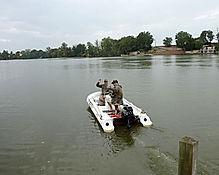 départ pour une partie de pêche en bateau
