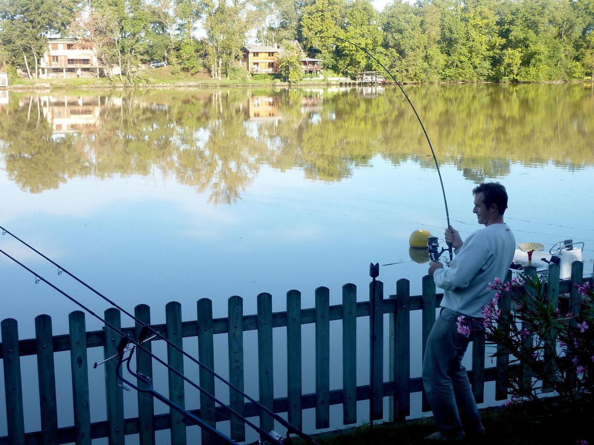 départ de pêche au silure