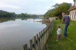 Photo pêche gîte