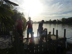 Partie de pêche aux gardons