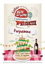 Affiche fête des Vins de Gaillac 2018
