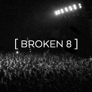 Broken 8 Records Background For Quote.jp