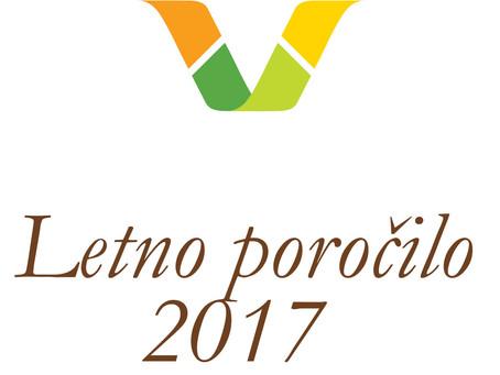 Letno poročilo Varuha za leto 2017