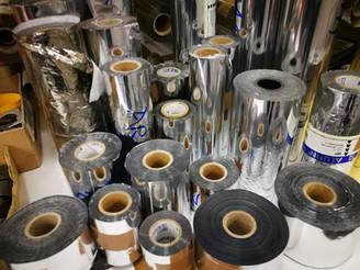 Izbor folij za vroči tisk je velik - srebrne folije