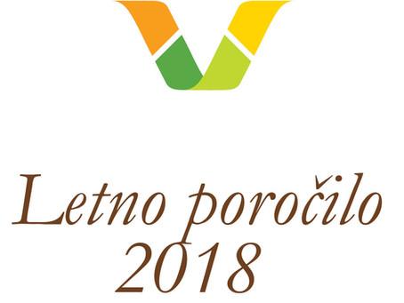 Poročilo o delu Varuha odnosov v verigi preskrbe s hrano v letu 2018
