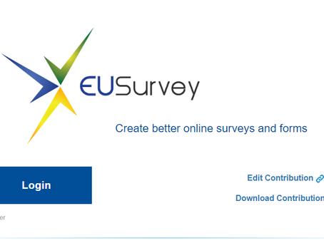 Izpolnite anketo Evropske komisije  (EUSurvey) z namenom ugotavljanja nepoštenih trgovinskih praks